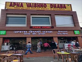 vaishno dhaba in dhakoli,